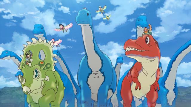 電影哆啦A夢:大雄的新恐龍劇照 2