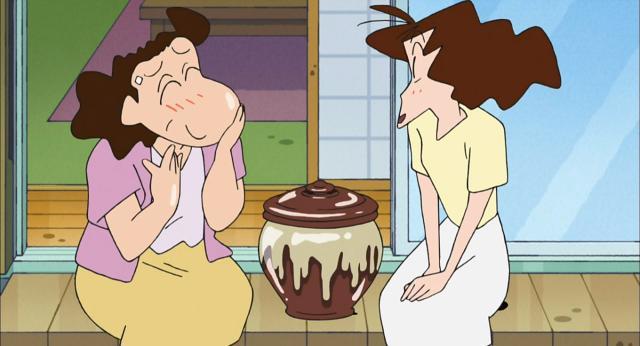 蠟筆小新 581~816第711話【第一次做米糠醬菜哦/把桌子轉來轉去哦/早起做廣播體操哦】 線上看