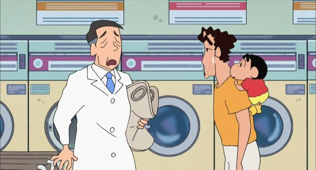 蠟筆小新 581~816第755話【自助洗衣店真方便/在隔壁伯母家玩耍/吃到壽喜燒哦】 線上看
