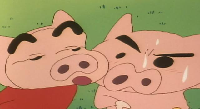 蠟筆小新 海外版第36話【我們是三隻小豬哦 第一集/我們是三隻小豬哦 完結篇/去鋼琴發表會哦】 線上看
