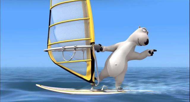 貝肯熊 第三季第4話-帆板運動 線上看