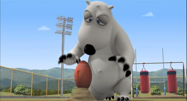 貝肯熊 第三季第32話-橄欖球 線上看