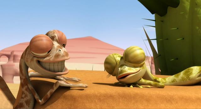 小蜥蜴奧斯卡第73集:蜥蜴金排球 線上看
