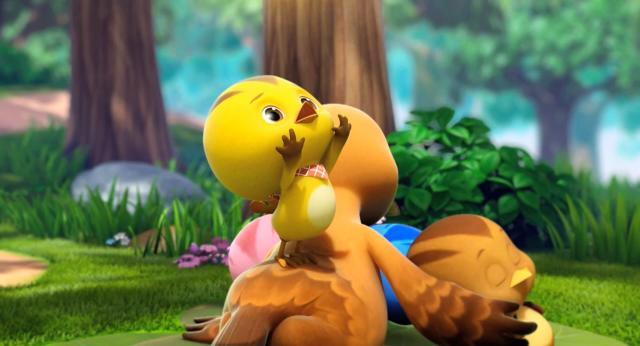 萌雞小隊 第一季是毛毛蟲還是豆子? 線上看