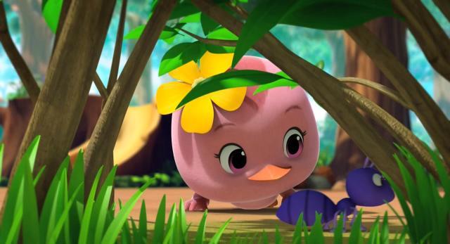 萌雞小隊 第一季捉迷藏?竹節蟲最厲害了! 線上看