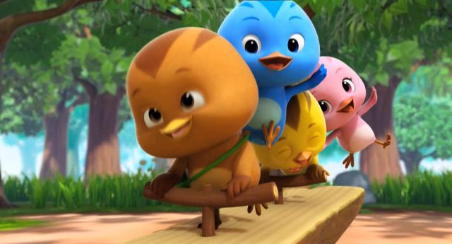 萌雞小隊 第一季小松鼠找橡實 線上看