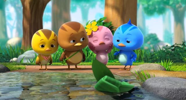萌雞小隊 第一季幫小蝌蚪找媽媽 線上看