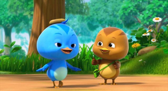 萌雞小隊 第一季你是烏龜呀,還是石頭呀? 線上看