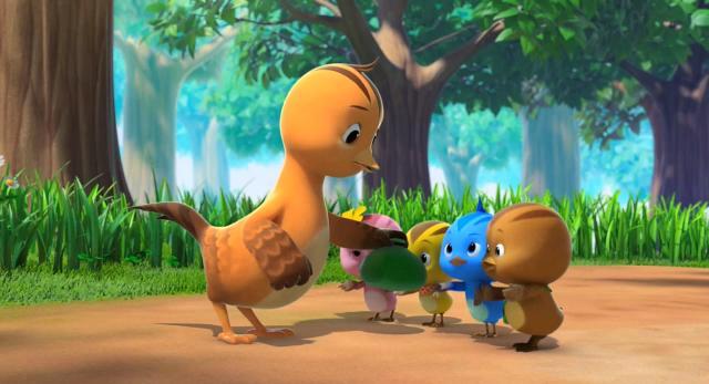 萌雞小隊 第一季愛乾淨的浣熊叔叔 線上看