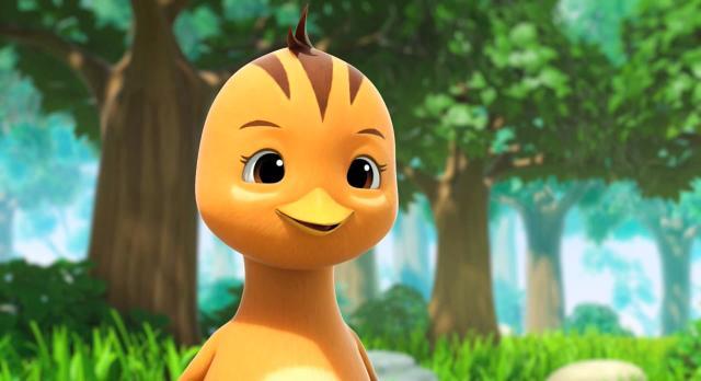 萌雞小隊 第一季跟刺蝟寶寶玩氣球! 線上看