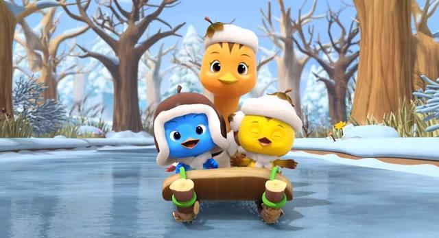 萌雞小隊 第一季奔跑吧,雪橇 線上看