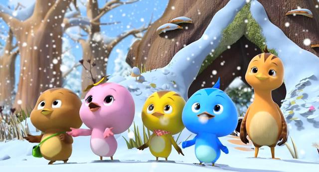 萌雞小隊 第一季雪人雪人,一起來玩吧 線上看
