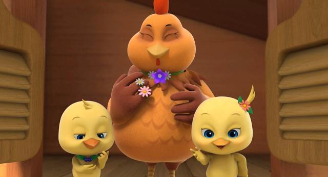 萌雞小隊 第一季去雞阿姨家做客啦 線上看