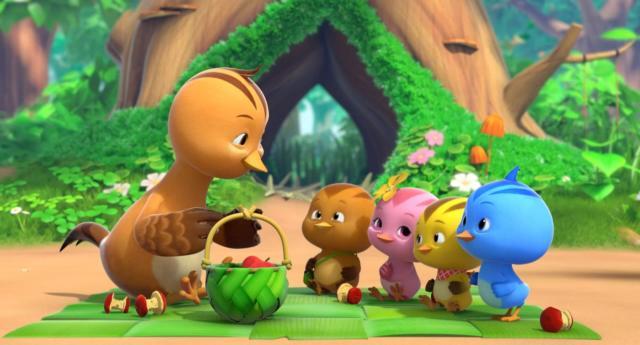 萌雞小隊 第二季第20集【森林裡的清潔員】 線上看