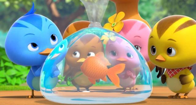 萌雞小隊 第二季第24集【森林裡的小金魚】 線上看