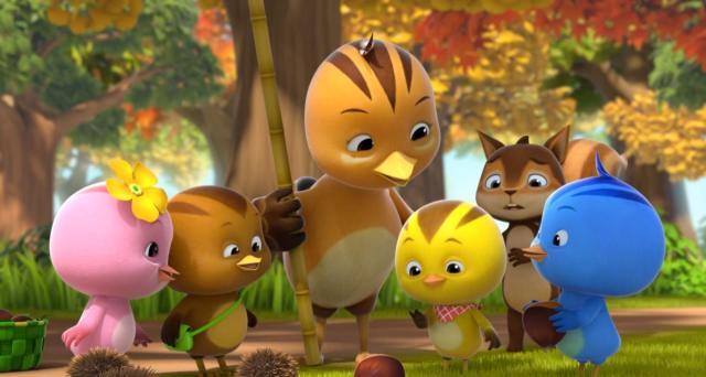 萌雞小隊 第二季第43集【小松鼠當爸爸】 線上看