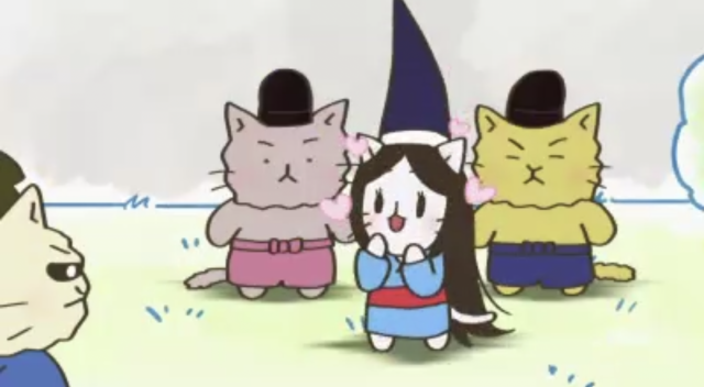 喵的咧~貓咪戲說日本史! 第四季第17話【究極的女武者,巴御前!】 線上看