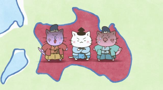 喵的咧~貓咪戲說日本史! 第四季第31話【敵人就在本能寺!明智光秀!】 線上看