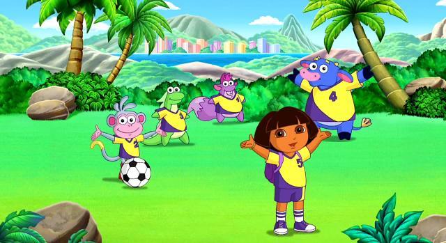 愛探險的朵拉 第八季第1集【Dora的足球大決戰】 線上看