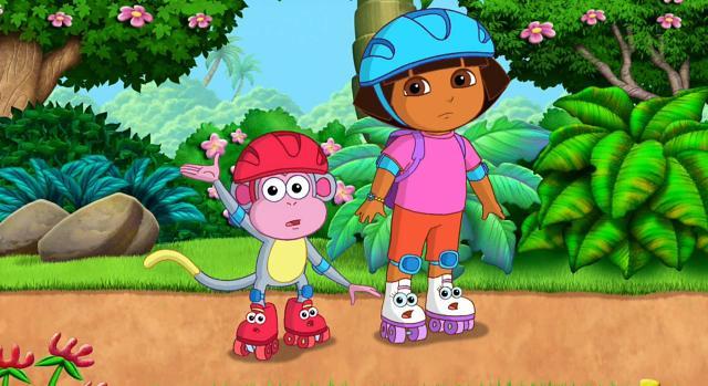 愛探險的朵拉 第八季第8集【Dora的溜冰大冒險】 線上看