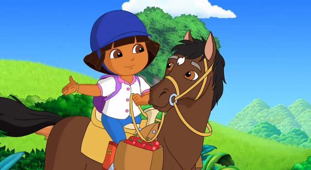 愛探險的朵拉 第八季第9集【Dora與史巴奇的騎乘冒險】 線上看