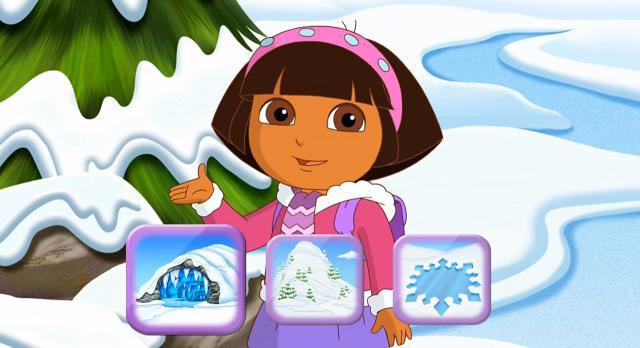 愛探險的朵拉 第八季第11集【Dora的花式溜冰秀】 線上看