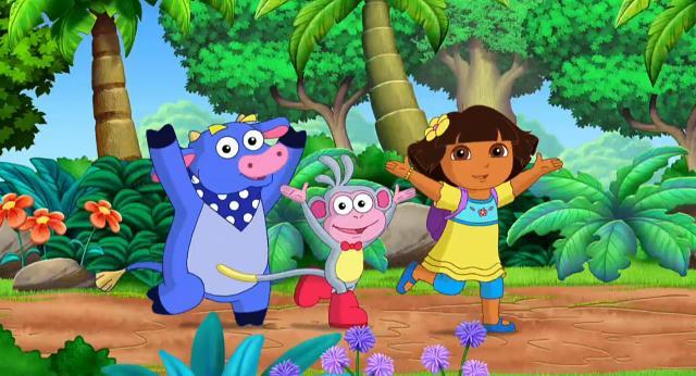 愛探險的朵拉 第八季第12集【Dora的雨林才藝表演】 線上看