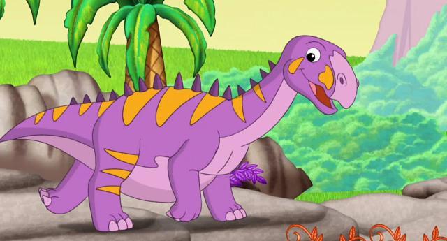 愛探險的朵拉 第八季第13集【Dora和Deigo的恐龍歷險】 線上看