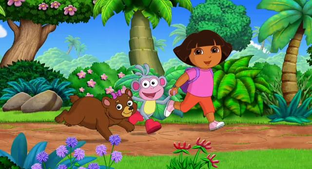 愛探險的朵拉 第八季第14集【Dora與很睏的熊】 線上看
