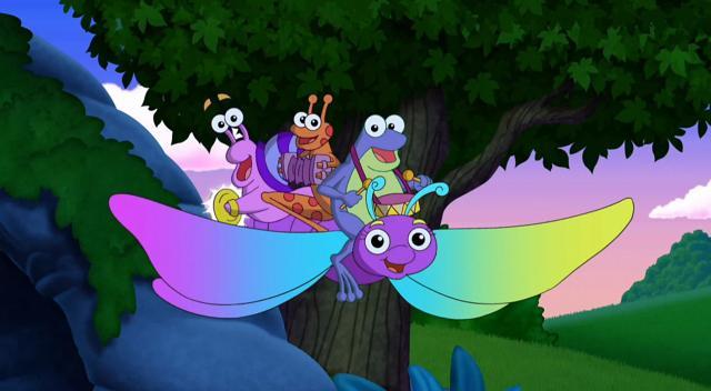 愛探險的朵拉 第八季第18集【Dora的夜燈探險】 線上看