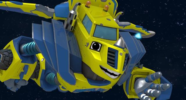 旋風戰車隊 第四季第10集【機器人上太空】 線上看