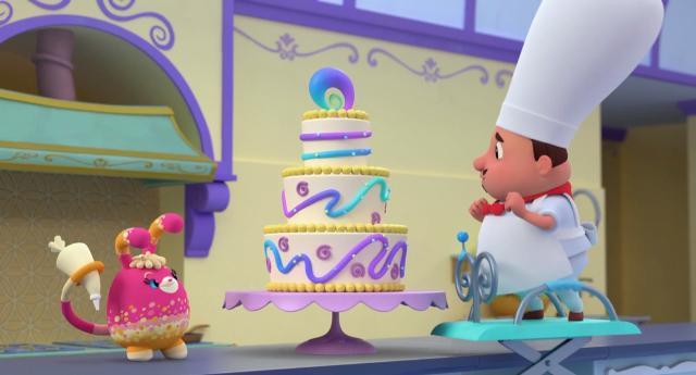 小艾比與毛毛寶 第一季第11集【捲捲主廚】 線上看