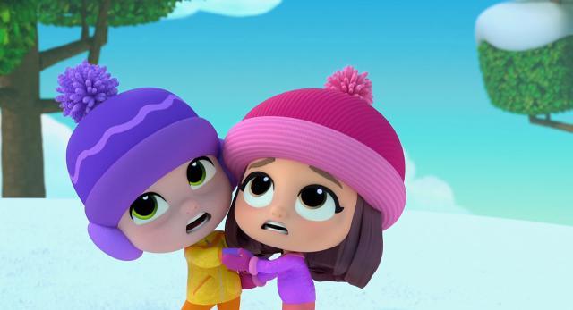 小艾比與毛毛寶 第一季第19集【摩摩波波玩雪去】 線上看