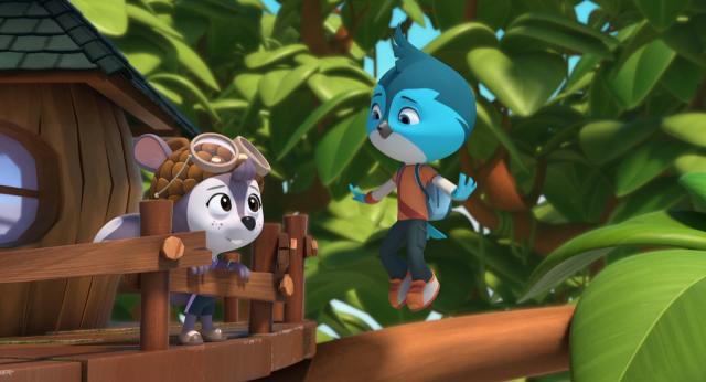 沖天小隊 第一季第6集【松鼠雪莉的飛行】 線上看