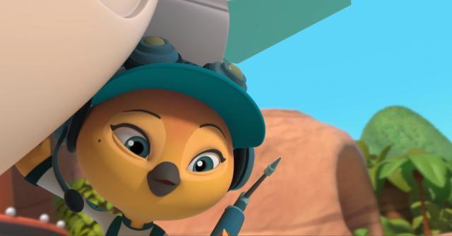 沖天小隊 第一季第22集【雪莉的火箭冒險】  線上看