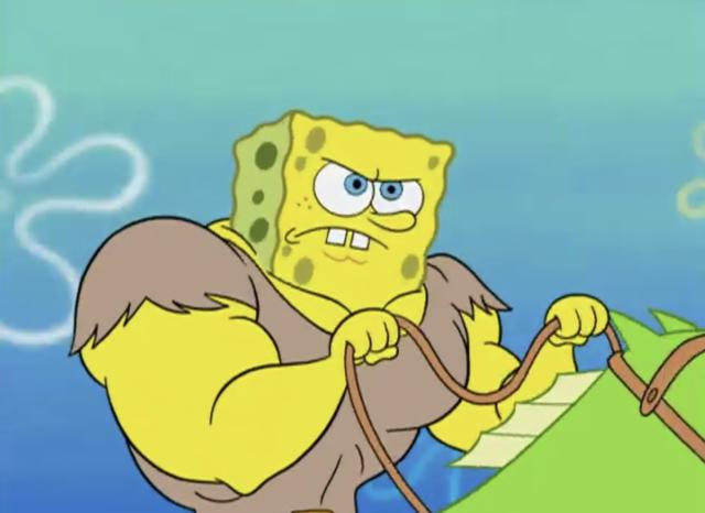 海綿寶寶 第五季第13集【吹牛大王】【海超人vs海绵】 線上看