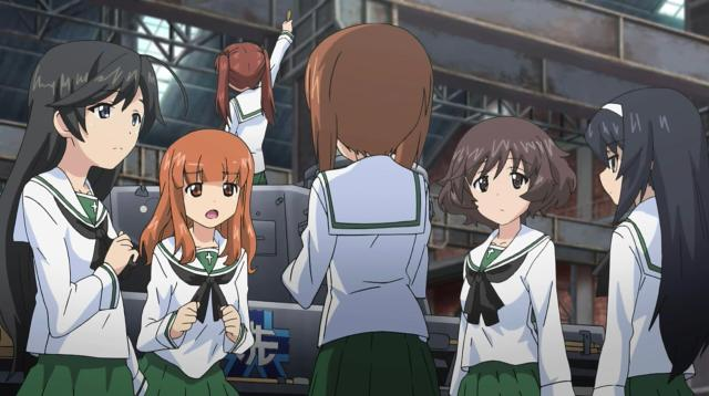 少女與戰車 OVA劇照 1
