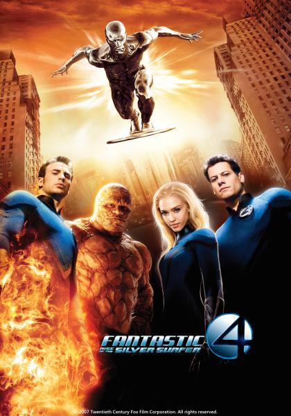 驚奇4超人:銀色衝浪手現身線上看