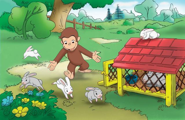好奇猴喬治 第一季劇照 7