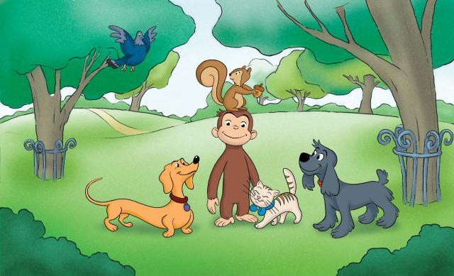 好奇猴喬治 第一季劇照 10