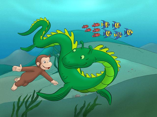 好奇猴喬治 第一季劇照 4