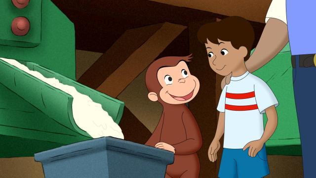 好奇猴喬治 第八季劇照 13