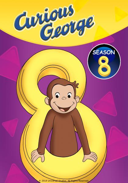 好奇猴喬治 第八季線上看