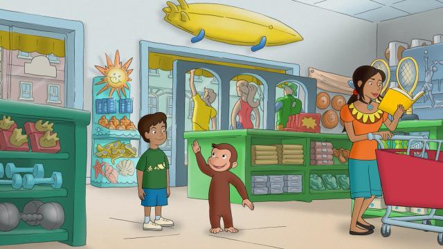好奇猴喬治 第十三季劇照 2