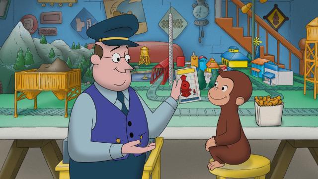 好奇猴喬治 第十三季劇照 4
