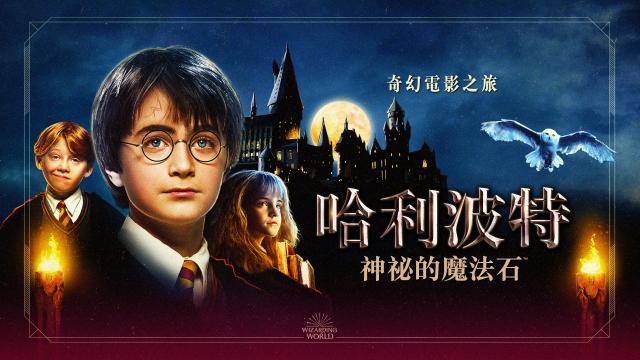 哈利波特神祕的魔法石:奇幻電影之旅劇照 1